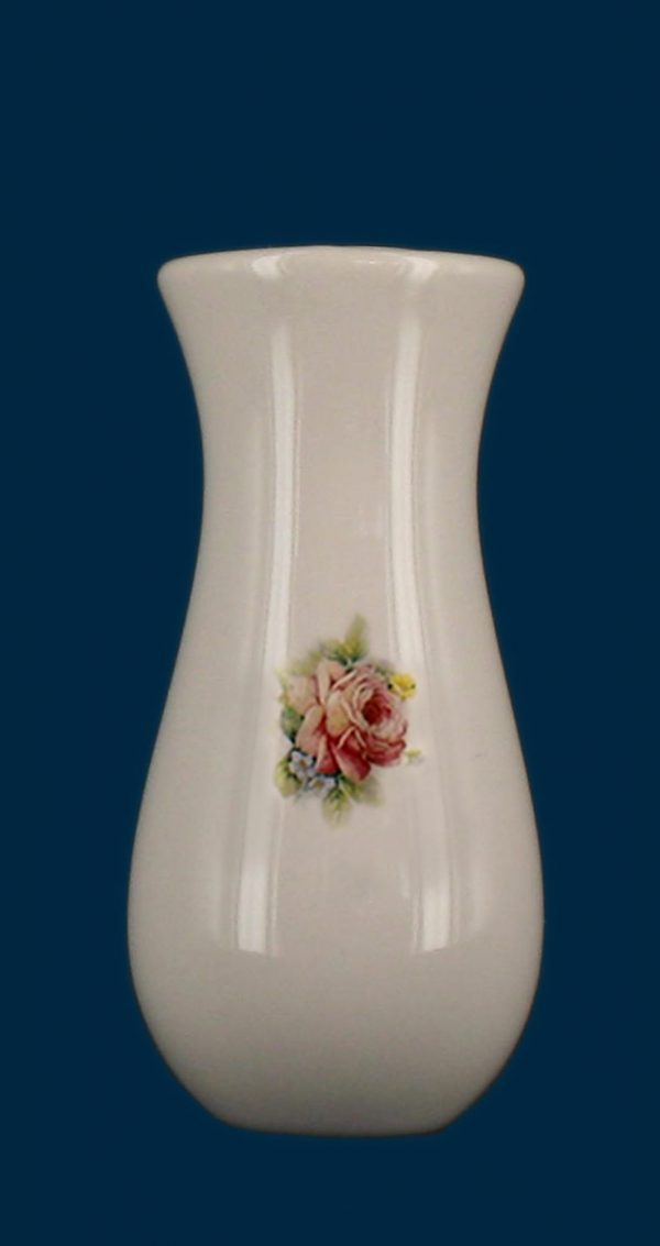 Porta orchidee realizzato in porcellana limonge. In dotazione contenitore in plastica per fiori e kit di viti in ottone per il montaggio. Decori indelebili prodotti artigianalmente e cotti al forno a 900 gradi.